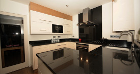 Bespoke modern fitted kitchen
