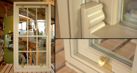 Georgian bar sliding sash window