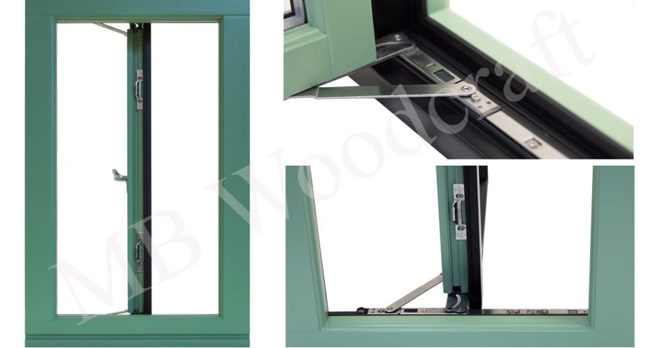 Easy clean timber windows